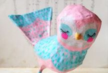 Craft activities for children / Ideas for rainy days with children, craft activities for kids.