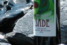 Absinthe Sade at Öschinensee / Swiss Absinthe Sade mit einem Schluck Gletscherwasser. Suisse Absinthe Sade with a sip of water at the glacier.  Dieses Elixier wird traditional im Val-de-Travers hergestellt. www.absinthe-sade.ch www.oeschinensee.ch