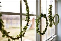 Christmas decoration ideas / Seasonal decoration ideas, Christmas display ideas for interiors.