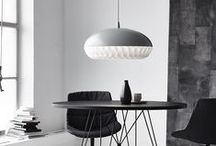 Lighting / A board for lighting in the home from floor and table lamps to ceiling pendants and feature lighting.