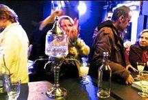 "HR Giger Absinthe im Schauspiel Leipzig / As part of ""Auftritt Schweiz"" has the Absinthe Distribution from Solothurn at the book fair in Leipzig presented the new HR Giger Absinthe. This wonderful absinthe from the Val-de-Travers is done togeter with oscar winner Hansruedi Giger and his wife. Get your one HR Giger Absinthe Wolfmilch or Zeitgeist. www.absinthedistribution.com"