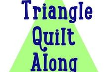 Triangle Quilt Along / Triangle Quilts from the Triangle Quilt Along@TheSassyQuilter www.sassyquilter.com/triangle-quilt-along-homepage/