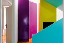 Inspiration - Bold Colour / looking for bright and colourful interior inspiration. Spaces with bright and colourful influences.