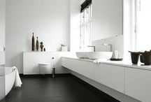 Inspiration - Monochrome / Interior Design and home decorating inspiration for the Monochrome style.