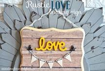 || DIY, Handmade Goods, Crafts, and Refinished Furniture || / Hello All! This is a Community Board to help promote all ye fellow Crafters, DIYers, and Furniture Refinishers! To become a contributor, please go ahead and follow Glitter & Glue and leave a comment on one of my posts. Thank you and Happy Pinning!!!