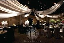 Luma Designs - Chattanooga Wedding Lighting / Luma Designs provides fabric draping and specialty lighting services for Life's celebrations. Specializing in weddings, their team has nearly two decades of experience producing special events of all size and scope. Contact them: 855.488.LUMA.