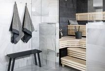 Sauna / Steam Room / Beautiful and luxurious sauna and steam room spaces.