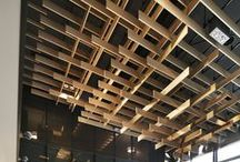 Ceiling / A board for everything above the head and so easily forgotten in the modern world.