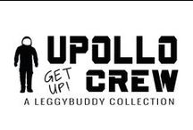 "UPOLLO CREW / UPOLLO CREW is a collection of crocheted toys consisting of rocket boy UPOLLO and his astronaut crew which come in different colors and carry two letter names, specifically UP, OK, MY, IN, GO, DO, IT, and OH. The names of the astronauts can be combined into short sentences like ""DO IT! "", ""GO UP!"" , etc. UPOLLO CREW is a contemporary and minimalistic product concept based on a traditional craft."