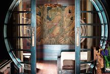 Inspiration - Chinese / Interior Design and home decorating inspiration for the Chinese style.