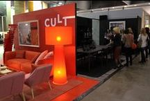 Cult Events | DEN Fair 2015 / Cult welcomed visitors to experience our dramatic, colour blocking stand at the inaugural DEN Furniture & Design Fair from 14-16 May, 2015, at Melbourne Convention & Exhibition Centre.