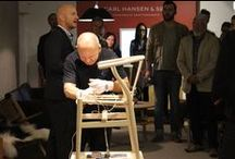Cult Events | Carl Hansen & Son Weaver Workshop / Cult is proud to have hosted workshops with one of the master craftsmen from Carl Hansen & Son who will demonstrate the incredible weaving technique of the iconic Wishbone chair in our showrooms.
