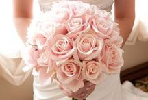 Pretty Pink / Romantic, Feminine Flair <3 Soft Pink is a beautiful, inspirational color for weddings and other design projects.
