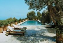 Swimming Pools / Tranquil and luxurious swimming pool designs, indoor and outdoor.