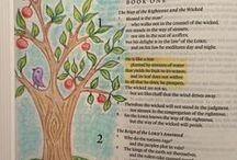 Bible Journaling / Ideas for enriching your quiet time.