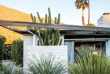 Inspiration - Palm Springs / Palm Springs interior design and home decor inspiration. Furniture, accessories and styles to help inspire and recreate the Palm Springs Interior Design style.