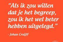 Uitspraken Johan Cruijff