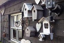 Vogelhuisjes & voederplekken