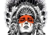 Powerful mystic woman