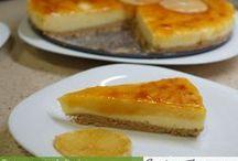 Tartas con Thermomix / Recetas de Tartas en recetasdethermomix.es - Las tartas son un punto final muy dulce a cualquier celebración y el Thermomix nos puede ayudar en la elaboración de cada una de las partes que las componen.
