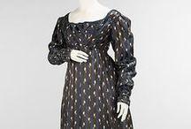 1820's Women's Day Dresses
