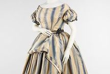 1840's Women's Evening Dresses