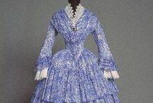 1850's Women's Day Dresses