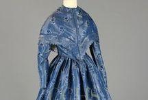 1840's Women's Day Dresses