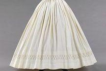 1840's-60's Women's Petticoats