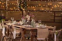 Rustic Wedding / Inspiration & ideas