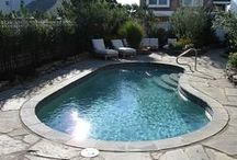 Small Inground Pool & Spa Ideas / by Rani Hegemier- Inspired by Evan