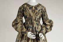 1830's Women's Day Dresses