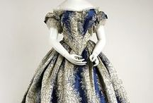 1850's Women's Evening Dresses