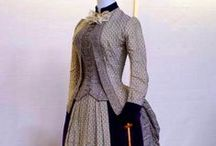 1880's Women's Day Dresses