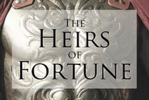 Heirs of Fortune / a board for my 2015 novel 'Valerian's Legion: The Heirs of Fortune'