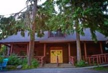 Laurel, Fanning, and Cy Lodges / A look at our three main lodges at Camp.