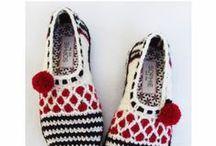 crochet chaussettes et chaussons
