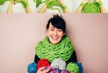 pletení / pletené oblečení, doplňky