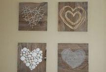 tvoření / výroba dekorací,doplňků domů i na zahradu