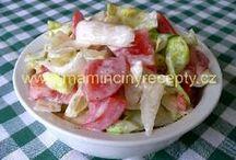 recepty pro zdraví / saláty, pomazánky,luštěniny...