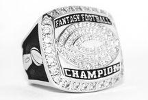 Fantasy Football Championship Rings / High Quality Fantasy Football Championship Trophy Rings