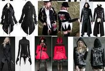 Burlesque Emo Gothic Steam Punk & Lolita Fashion / The best Designer Burlesque Emo Gothic Steam Punk Rock & Lolita Fashion shopping site http://www.liquiwork.com/punkgothlolita.html / by Liquiwork.com