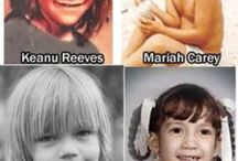 Who would have guessed? / Youth photos or before they were famous.  / by Frank MacKay