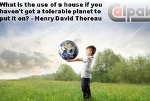 Quotes / Αποφθέγματα για την ηλιακή ενέργεια, τον πλανήτη, τη φύση