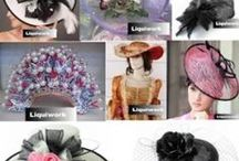 Ladies Church Wedding Bridal Dress Hats / Artisan Handmade Ladies Church Wedding Bridal Dress Hats http://www.liquiwork.com/womens-dress-hat.html / by Liquiwork.com