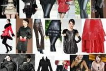 Womens Leather Fashion Clothing / Couture Leather Fashion Clothing for Women http://www.liquiwork.com/womens-leather-clothing.html  / by Liquiwork.com