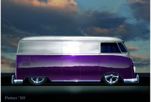 Cool vw buses / by Peter Dawson