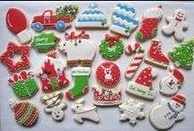 christmas / winter cookies