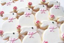 easter / spring cookies