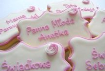 wedding / anniversary cookies